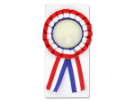 Red, white and blue award ribbon