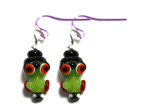 Monster Lampwork Glass Earring Bead Kit