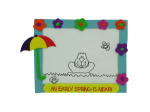 """Color Your Own! """"Happy Groundhog's Day!"""" Picture Craft Kit"""