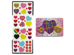Valentine's stickers with magnetic case