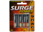 Surge Power AA Batteries