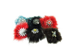 Fur Hair Pin