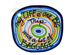 life luggage tag