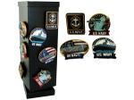 navy magnets 24pc display