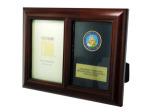 navy honor photo frame