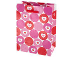 Hearts & Dots Valentine Gift Bag