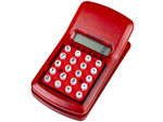 Calculator Clip Red