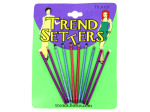 5 pair bobby pins assorted colors