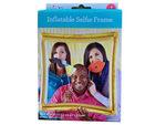 Gold Inflatable Selfie Frame