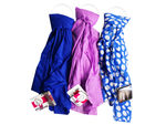 1 Count Scarf in Blue and Purple Assorted Colors