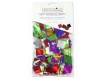 Foil Confetti in Squares