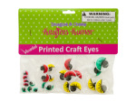 Colored Wiggly Printed Craft Eyes