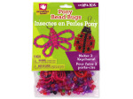 Butterfly and ladybug keychain craft kit