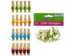 Craft Clothespins