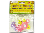 flowers with jewels 25pc