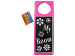 design a door hanger ready to color 6 asst pictures/colors