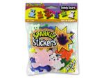 Teddy bear sparkle stickers