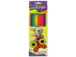 Bright colored cool wax sticks