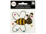 Bumblebee Rhinestone Specialty Sticker