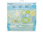 Baby Boy Scrapbook Page Kit