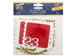 25 Days of Christmas Cardstock Cards