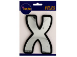 Letter X Peel & Stick Mirror Wall Decor