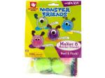 Peel & Stick Monster Friends Craft Kit