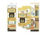 Momenta 39 Piece Stickers with Inspirational Phrases