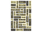 Momenta Foam Stickers with 39 Halloween Phrases