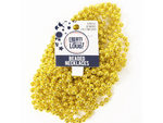 8 Pack Gold Beaded Party Necklaces