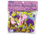 Easter spangles, confetti, 2 1/2 ounces