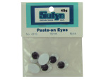 Large paste-on googly eyes, pack of 6