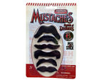 farrell's 6 count mustache pack