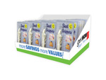 Bed Sheet Fasteners 4 Pack 48 Per Countertop Display - PDQ