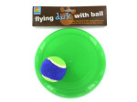 Flying disk with ball
