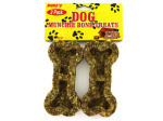 2 Pack bone-shaped dog munchies