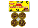 4 Pack spiral dog treats