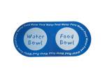 Printed Foam Pet Food & Water Mat