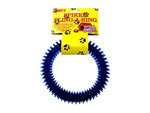 Spike fling-a-ring dog toy
