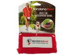 Large Bandana Bowl Built-In Waterproof Pet Bowl