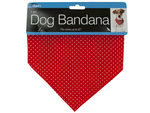 Printed Dog Bandana with Snap Closure