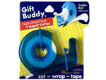 Gift Buddy Tape Dispenser & Paper Cutter with 1000' Roll