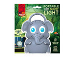 Elephant Portable LED Night Light with Handle
