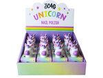 unicorn nail polish in countertop display