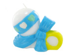 4x3 bl rattle candle 6387