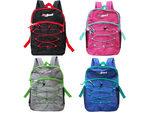 deluxe multi-pocket backpack with beverage pocket in assorte