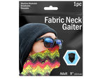 """9"""" Colorful Wave Printed Neck Gaiter"""
