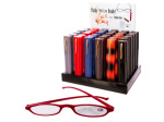 Reading Glasses with Fashion Case Counter Top Display