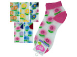 Low Cut Flowers Socks
