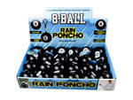 8-Ball Rain Poncho in Countertop Display